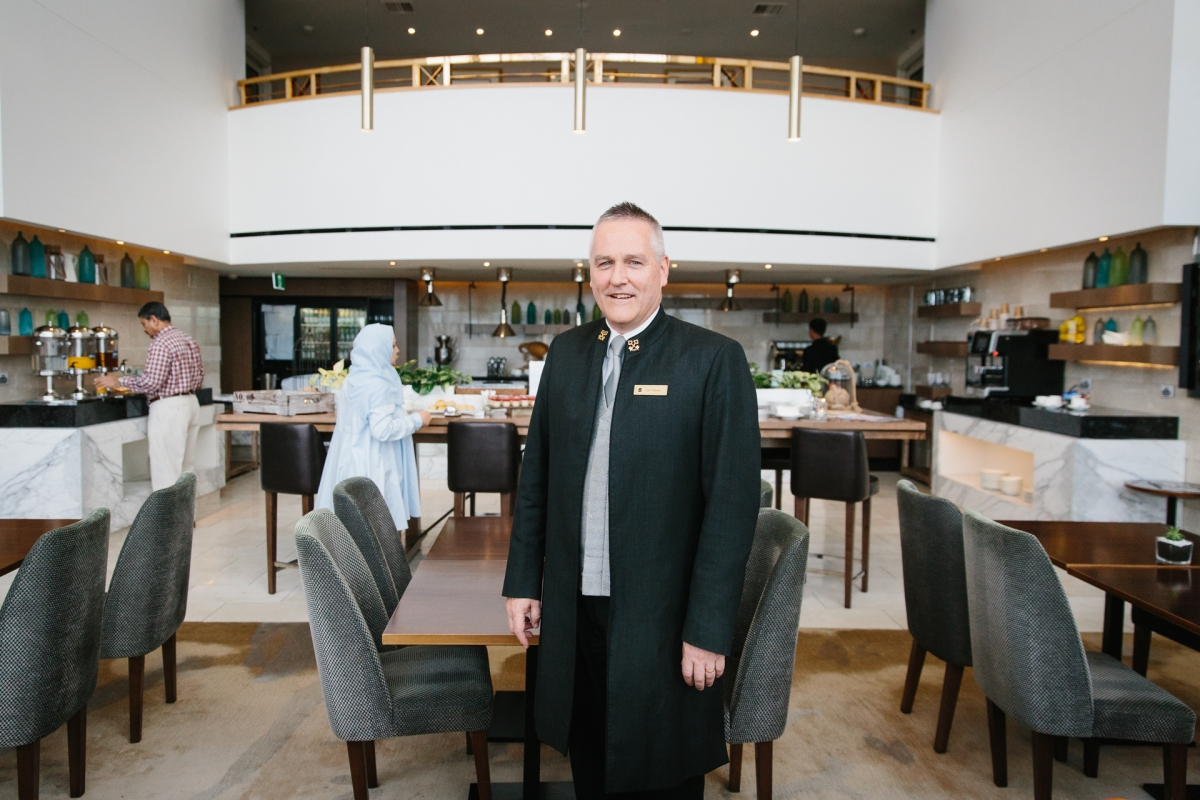 MEET THE CONCIERGE: COLIN TOOMEY OF SHANGRI-LA HOTEL, SYDNEY