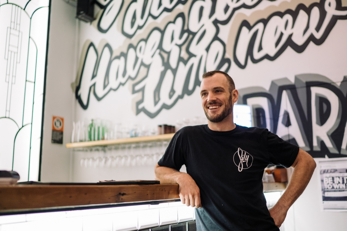 HOW TO MAKE YOUR BAR MORE 'YOU' - MEET NICK WHITE FROM SILY