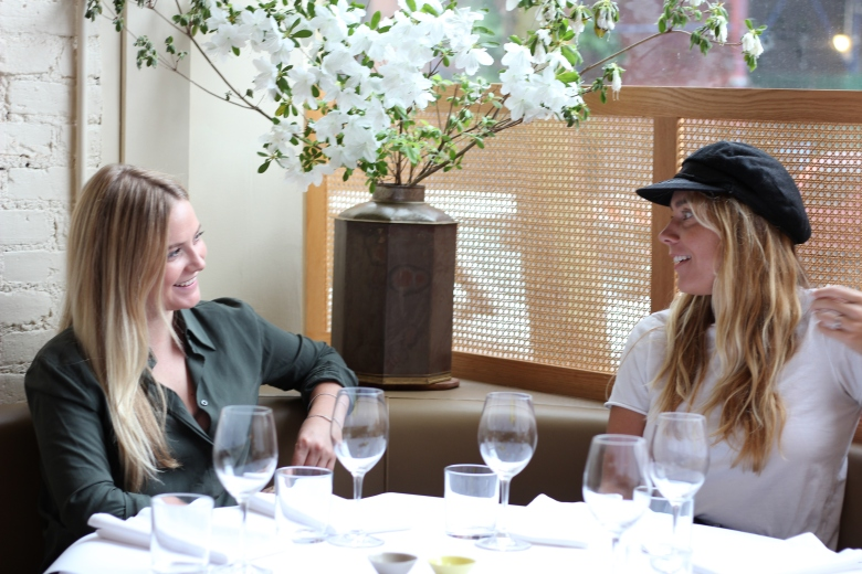 Chatting to Australian Chef Frankie Cox at one of her favourites restaurants - King.