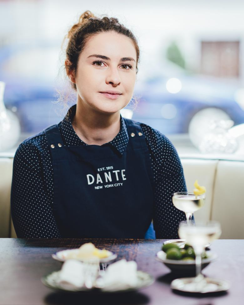 Liana Oster at Dante in New York: Photo - Kyle Ford
